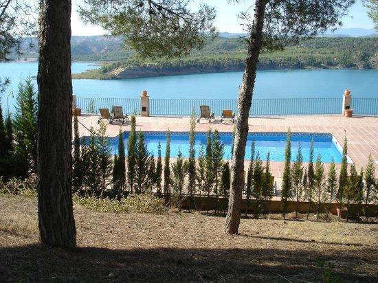 Hotel Balneario de Zújar- La Alcanacia : vue de l'hotel