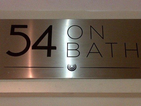 54 on Bath: Sign from Rosebank Mall