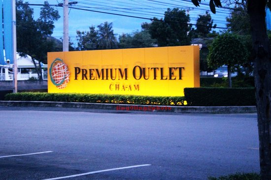 Premium Outlet Cha-am: view