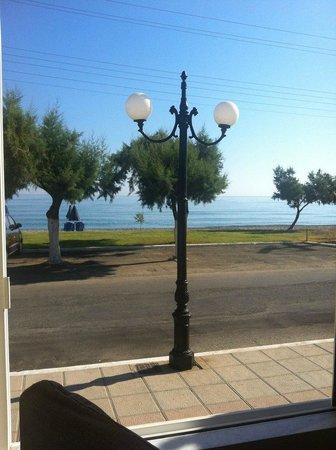 Castro Beach Hotel: Вид из нашего ресторана