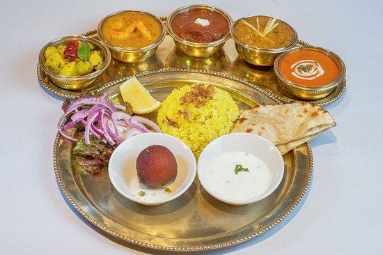 Punjabi by Nature Indian Restaurants: Maharaja Thali