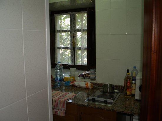 La Arquera Hotel: kitchentte