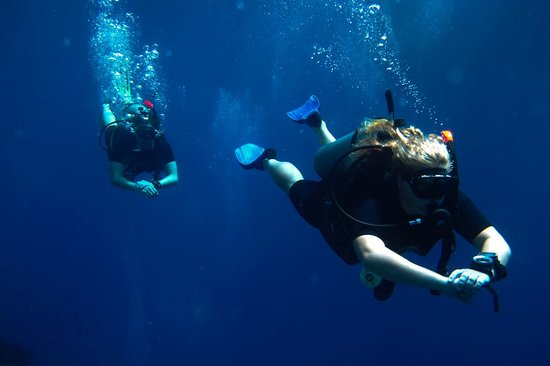 Lotus Diving: Being a Super Girl!!