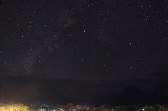 Vilayvong Guesthouse: Milky way!! (Im just an amateur), from the rooftop