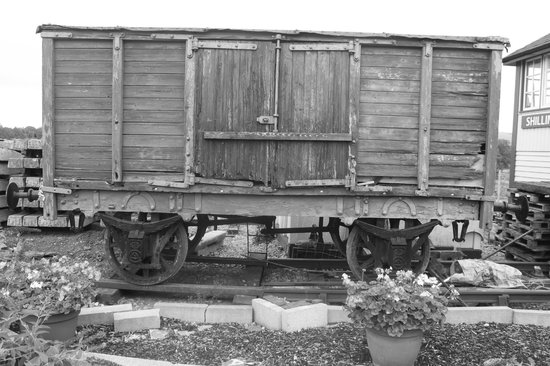 Carriage truck at Shillingstone