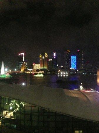 Oriental Riverside Hotel: view from room across Bund