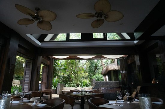 Abaca Boutique Resort: restaurant