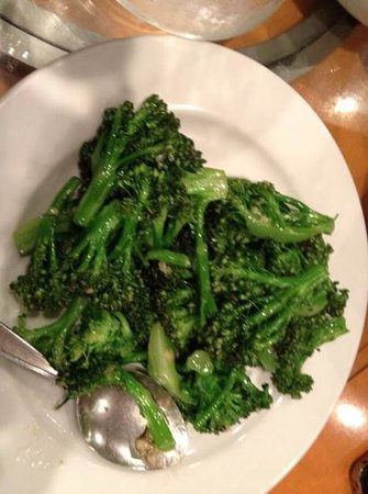 Ming Garden Chinese Restaurant : broccoli