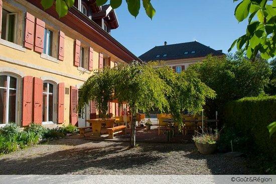 Restaurant de l'Aigle: Notre terrasse