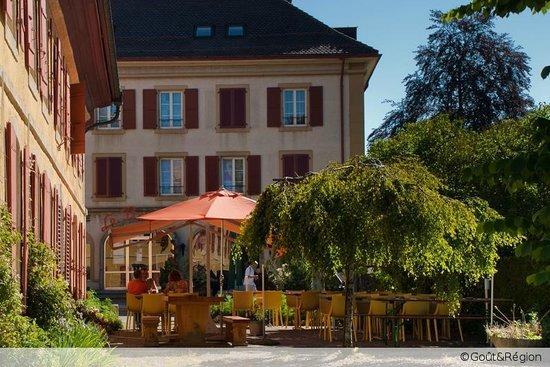 l'Hotel de l'Aigle: Notre terrasse