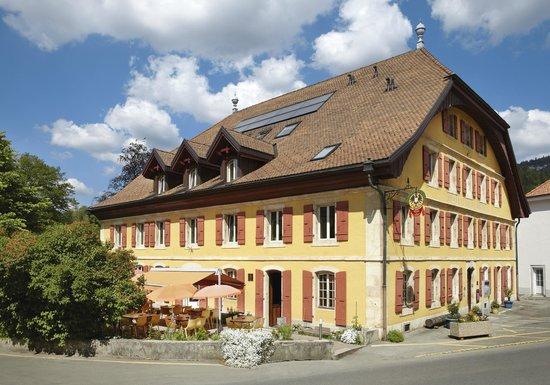 l'Hotel de l'Aigle: L'Hôtel-Restaurant de l'Aigle