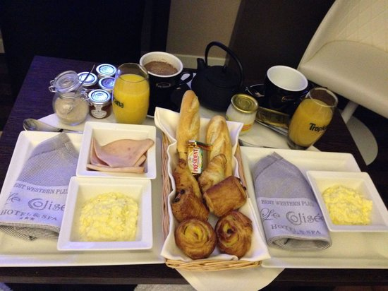 LE COLISEE Hotel & Spa : petit déjeuner, bien sympathique