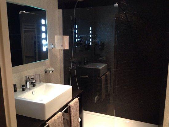 LE COLISEE Hotel & Spa : salle d'eau