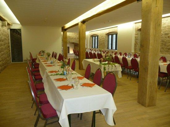 Château du Hohlandsbourg : Salle évènementielle