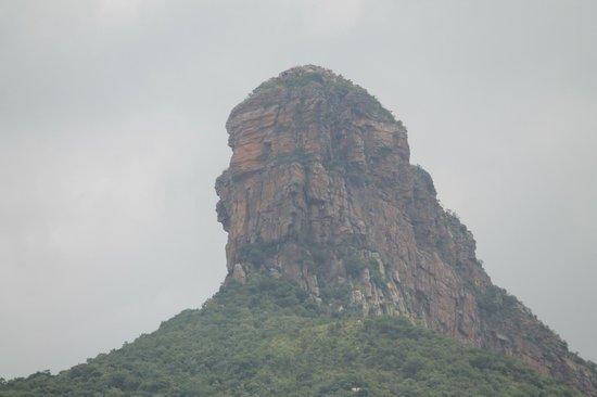 Tirumala Temple: Towering Rock