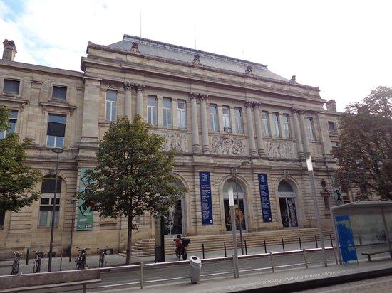 Musee d'Aquitaine : La façade