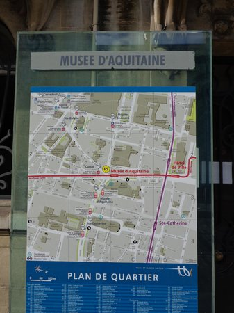 Musée d'Aquitaine: Tram B