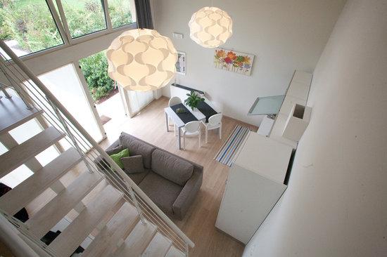 AppartaHotel Residence : veduta dal soppalco
