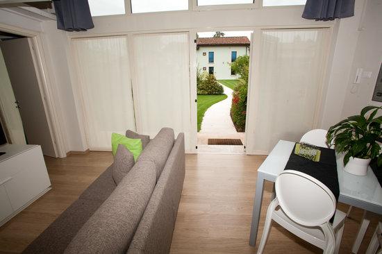 AppartaHotel Residence : vista giardino