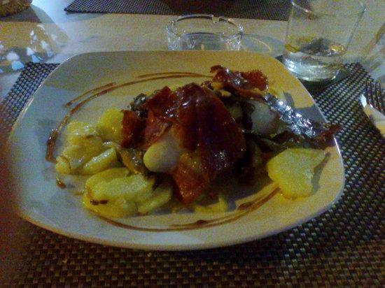 S'oli Verge: Cod with parma ham