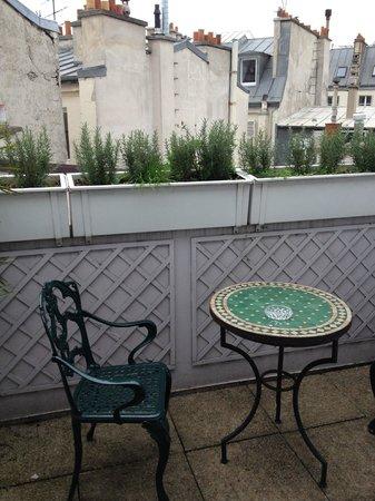 Moulin Plaza Hotel : terrace