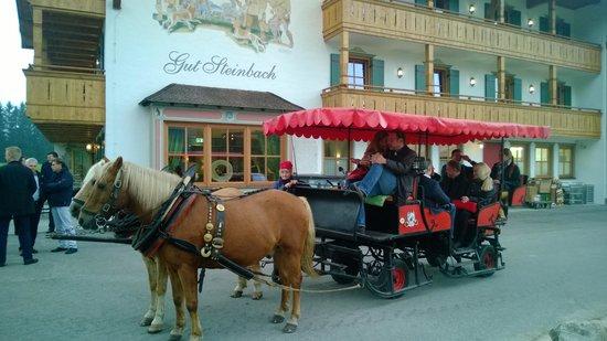 Hotel Gut Steinbach: visiting Reit im Winkel
