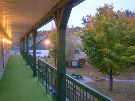 Station Touristique Floribell: du balcon!