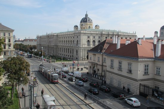 Hotel Sans Souci Wien: Day View
