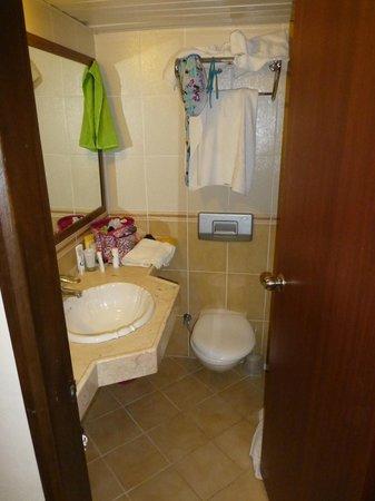 smalle badkamer, maar schoon! - Foto van Halici Hotel, Marmaris ...