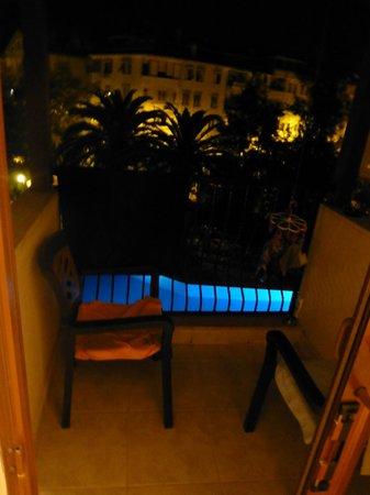 Halici Hotel: klein balkon