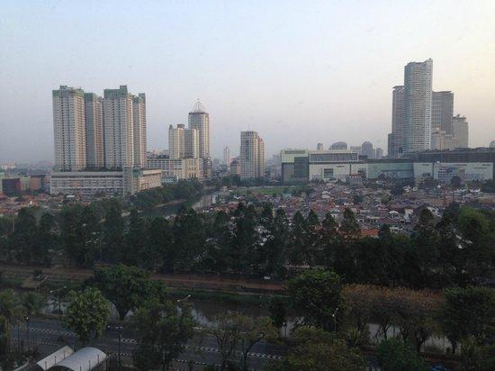 Shangri-La Hotel Jakarta : View