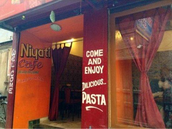 Niyati Cafe : 外観