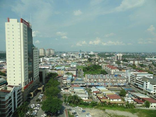 Pullman Kuching : la vue de la chambre