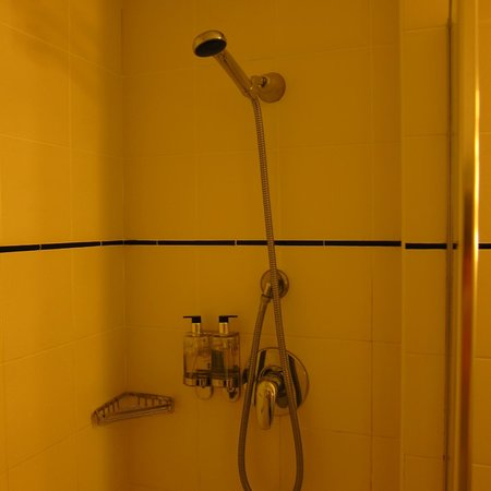 Diplomat Hotel: Decent shower