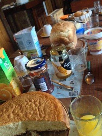 La Casa de Tounens: desayuno
