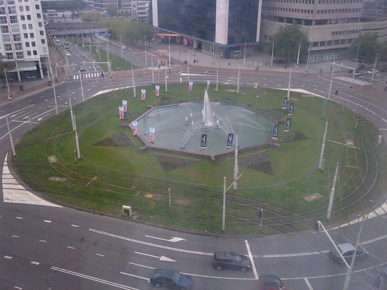 Hilton Rotterdam: The Centrum - View from Room