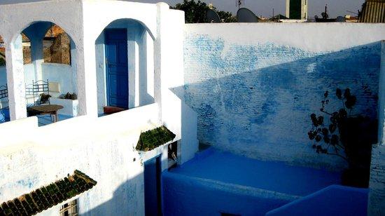 Riad Amazigh Meknes: Dachterrasse