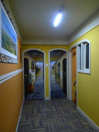Hostal Estrella Andina: Pasillo