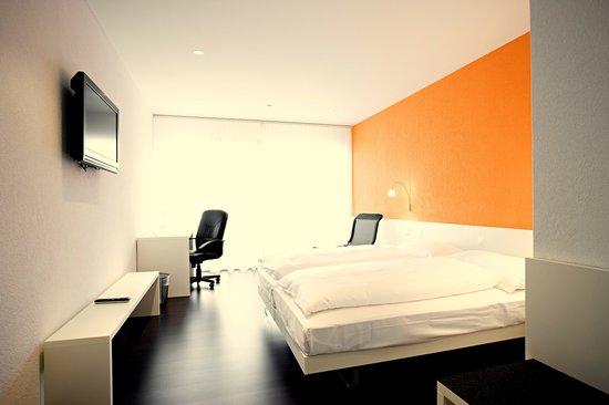 Hotel Restaurant Stalden: Doppelzimmer