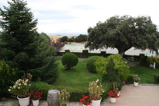 Hotel Cuatro Calzadas: Vista desde la habitación.