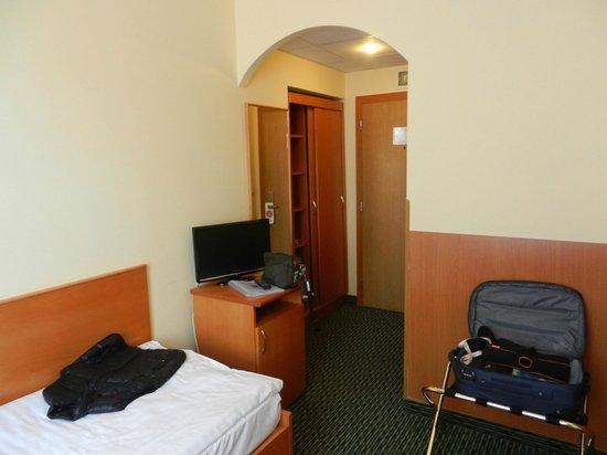 Central Hotel Prague : La mia camera