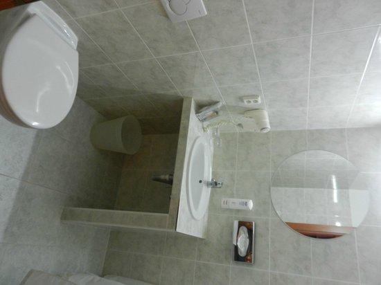 Central Hotel Prague : Il bagno