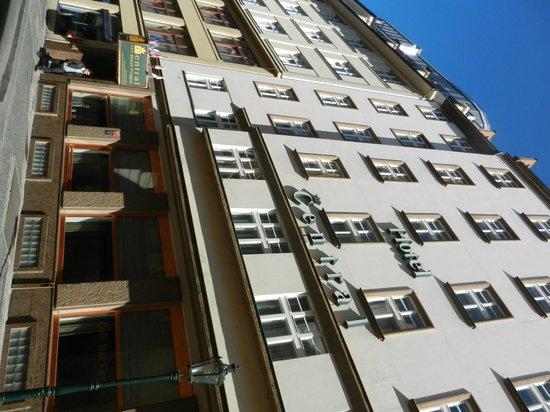 Central Hotel Prague : Facciata esterna