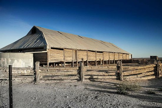 Mungo National Park: The Wool Shed