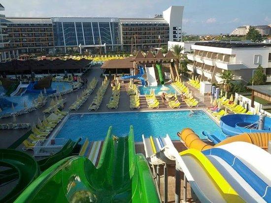 Türkler, Türkei: swimming pool overview