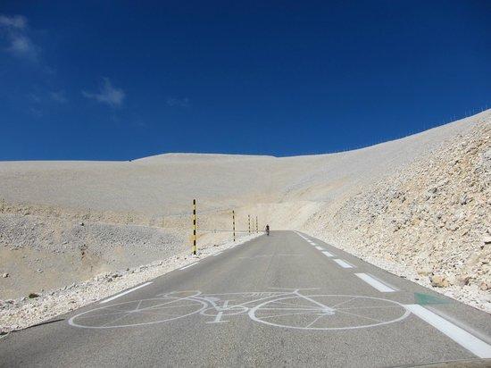 Mont Ventoux : Der Aufstieg
