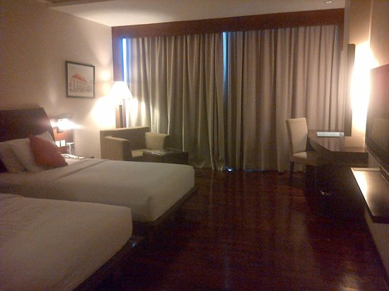 The Luxton Bandung: the bedroom