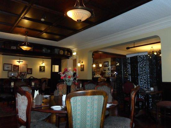 The Clarke's Hotel: dinning room