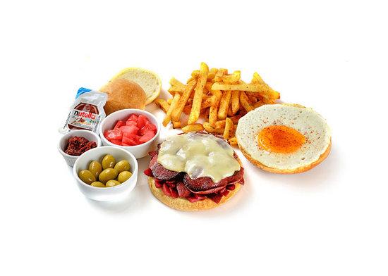 Ohannes Burger: Egg Maister