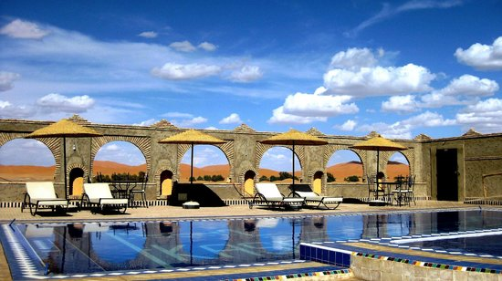 Kasbah Azalay Merzouga: Pool